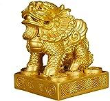 Chinesische chinesische Ornamente Lucky Ward Off Evil Resin Pixiu/Piyao Statuen Wohlstandsfiguren Home Office Geschäftsraum Eröffnung Geschenke Skulpturen