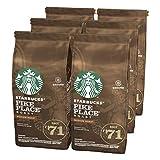 Starbucks Pike Place Café Molido De Tostado Medio 6 Bolsa de 200g