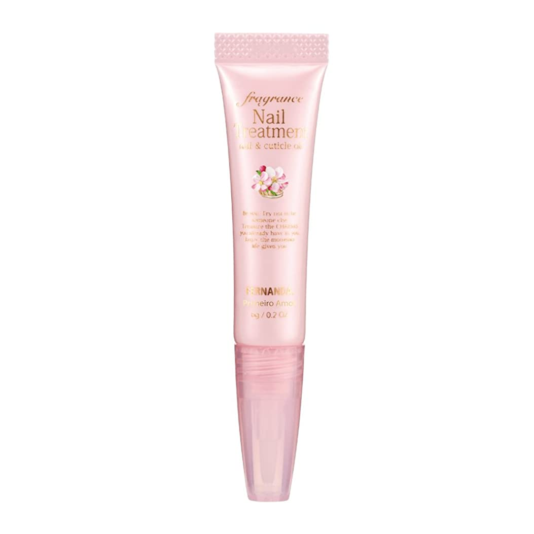銀河病気の文法FERNANDA(フェルナンダ) Fragrance Nail Treatment Primeiro Amor (ネイルトリートメント プリメイロアモール)