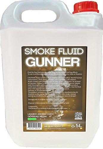 Liquido para maquinas de humo (Media densidad, Aroma coco)