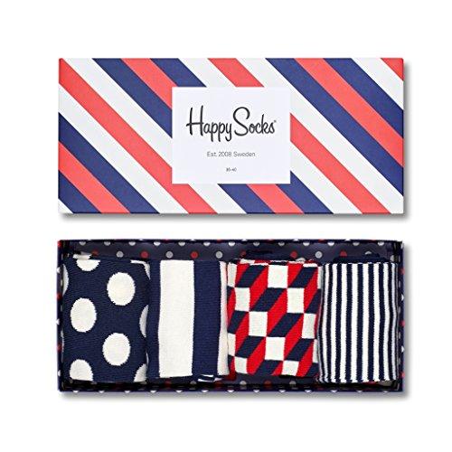 Happy Socks - Big Dot Geschenkbox - Regular - XBDO09-4 Paar (41-46)