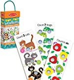 Melissa & Doug Poke-A-Dot Jumbo Number Learning Cards - 13 Double-Sided Numbers, Shapes, and Colors Cards with Buttons to Pop