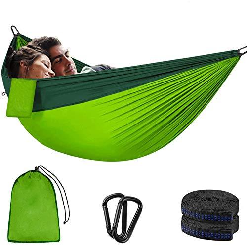 Hamaca de camping (300 x 200 cm) para 2 personas,...