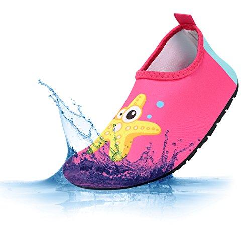 Padgene Zapatillas de Agua Unisex para Niños Niñas Secado Rápido Zapatos Escarpines de...
