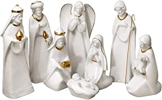 Best porcelain nativity set decoration Reviews