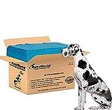 PETSWORLD Dog Training Giant Pads, Great Dane's Potty Pads, 36x36 inch, 150 Ct