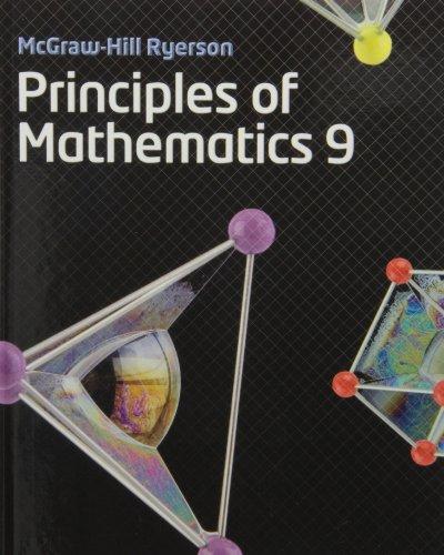 Principles of Mathematics 9 Student Book