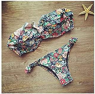 New Bandage Beach Strapless Swimwear Bikinis Women Swimsuit Sexy Bikini Brazilian Set