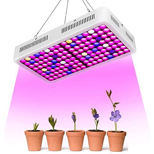 LED Coltivazione,Roleadro RD-1000 Luci per Piante Lampada Coltivazione Interno Crescita Grow Light para Pianti Frutta Verdure Fiore Serra Laboratorio Giardino