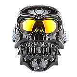 Gafas De Moto Casco Todoterreno A Prueba De Viento A Prueba De Arena A Prueba De Polvo Gafas De Montar Modelos Unisex@Chapado En Rojo H116