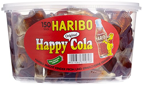 Haribo Happy Cola,3er Pack (3x 1.2 kg Dose)