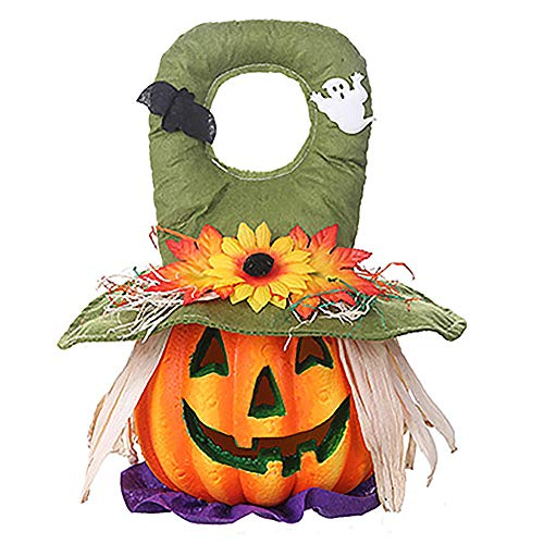 YMN Halloween Pompoen Lantaarn Decoraties, Foam Light Up Lantaarn Decoratieve Props, voor Indoor Outdoor Halloween Feesten Decoraties Series.