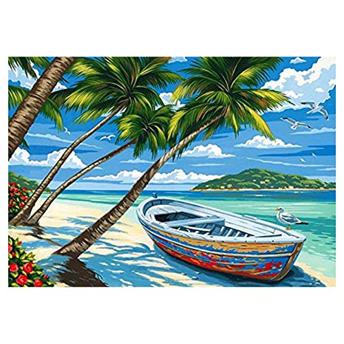 DIY 5D Diamond Painting Full Grande 5D Full Embroidery Paintings Rhinestone Pasted DIY Diamond Painting Cross Painting for Home Wall Decor 30 x 40 cm