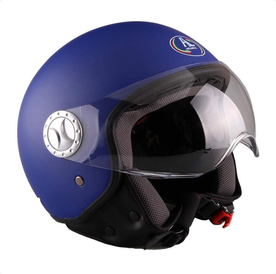 101 COLORE NERO OPACO MISURA S AL Helmets CASCO DEMI-JET MOD
