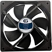 Coolerguys 120MM (120X120X25) High Airflow Waterproof IP67 12v Fan
