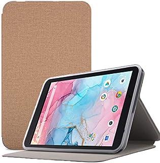 Dragon Touch Notepad Y80 ケース【LASTE】Dragon Touchタブレット 8インチ ケース 角度調整 キズ防止 軽量 タブレット カバー 全面保護 スリムフィット Notepad Y80専用 スマートカバー(カーキ)