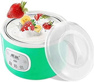 DQMBJ Cream Maker, Compact Make and Serve Bowl with Stainless Steel Freezer Core Creates Soft Serve, Frozen Yogurt, Ice Cream
