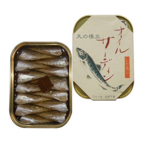 竹中罐詰『天の橋立 オイルサーディン』