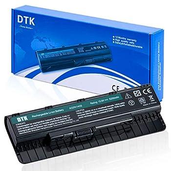 DTK Laptop Battery for ASUS A32N1405 ASUS N551 N551JX N551JK N551JM ROG G551 G551J G551JK G551JW G551V G771 G771JM GL551 GL551J GL771 GL771J Notebook