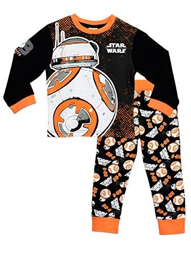Star Wars Jungen Schlafanzug BB8 Mehrfarbig 140