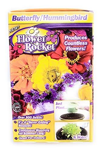 Flower Rocket As Seen On TV Butterfly/Hummingbird