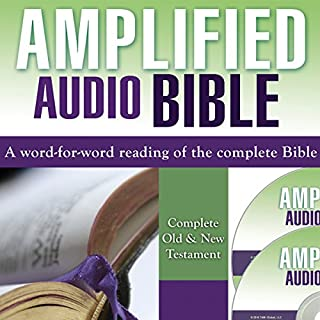 Amplified Bible: Complete Old & New Testament audiobook cover art