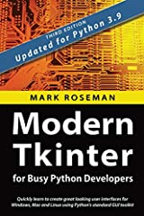 Modern Tkinter for Busy