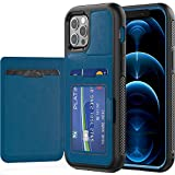 TECHGEAR iPhone 12 Pro Max Case, Tough Armoured Card Wallet