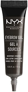 NYX PROFESSIONAL MAKEUP Eyebrow Gel, Black 05