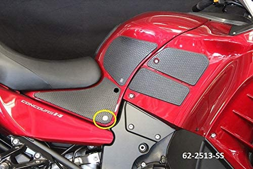 Large-scale sale TechSpec Gripster Tank Grips - KAWASAKI CONCOURS 14 SEAT S overseas LOWER