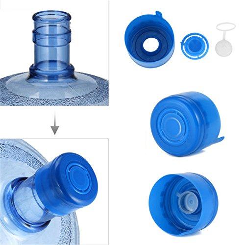 LKXHarleya 5 Teile/Los Nicht Spill Wasserflasche Snap on Deckel Wiederverwendbare Replacemet Wasserflasche Caps Anti Splash Peel Off Tops