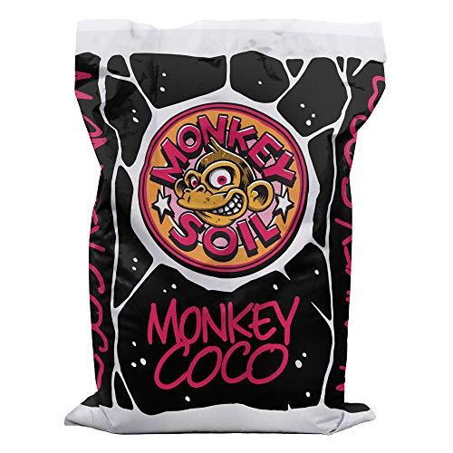 MONKEY SOIL Fibra Turba de Coco Plantas 50L
