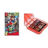 Super Mario Odyssey & Amazon Basics - Funda para almacenamiento...