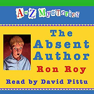 A to Z Mysteries: The Absent Author cover art