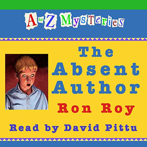 『A to Z Mysteries: The Absent Author』のカバーアート