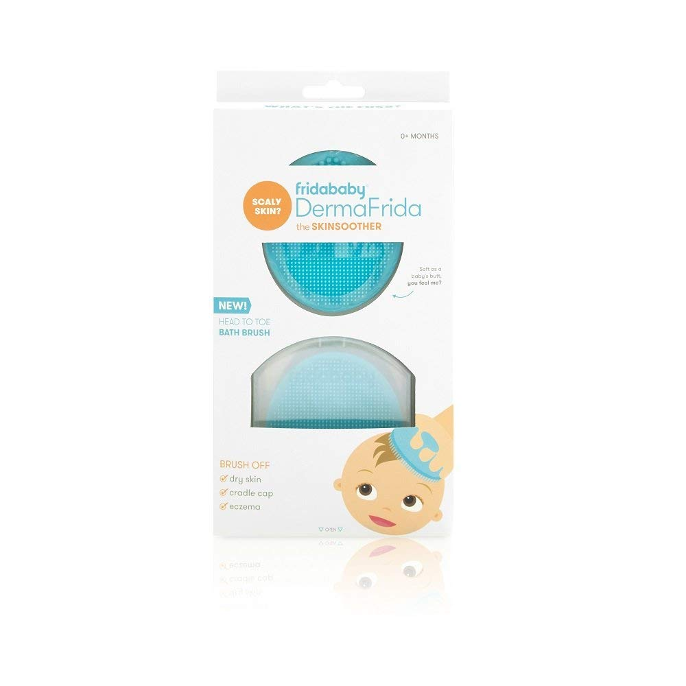 DermaFrida The NEW before selling ☆ SkinSoother Baby Bath Brush Fridababy Silicone by Spasm price