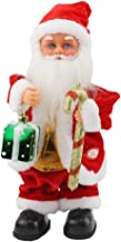 SdeNow Twerking Santa Claus,Present Gift Shaking Shoulder Jitter Left Foot Santa Claus Singing Dancing Christmas Santa Claus Toys Xmas Electric Dolls Gift for Kids