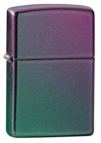 Zippo Unisex's Pocket Lighter, Iridescent Logo, One Size