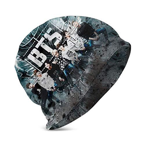 LREFON BTS Army Lightning Art Kinder Casual Beanie Hut Winter Warm Strick Ski Beanies Skull Cap