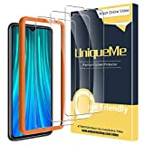 UniqueMe [3 Pack] Screen Protector for Xiaomi Redmi Note 8