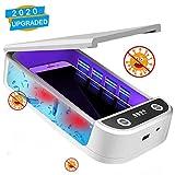 Ecomono Esterilizadores UV para Phone, Caja de desinfección Ultravioleta para teléfonos Inteligentes, Desinfectantes de desinfección de teléfonos Android para Smartphone con función de aromaterapia