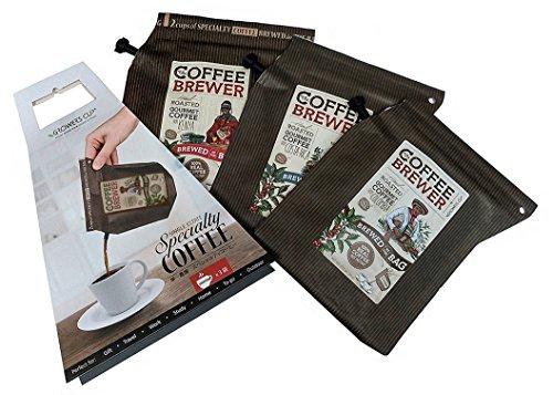 GROWER'S CUP COFFEE BREWER スペシャルティセット(3pcs.) スペシャルティコーヒー6杯分