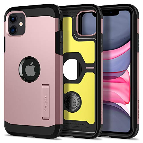 Spigen Tough Armor Designed for iPhone 11 Case (2019) - XP Rose Gold