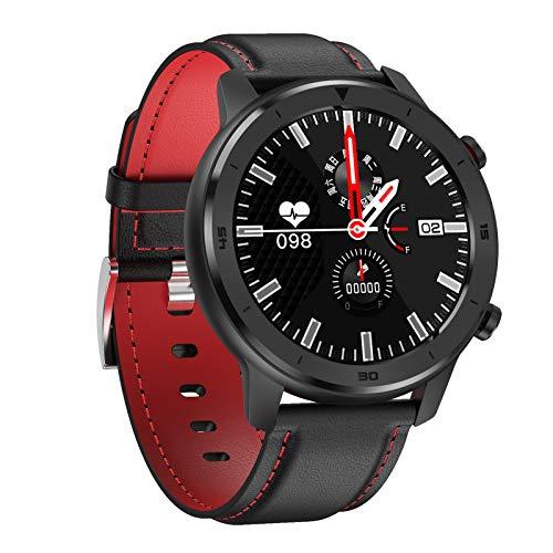 HQPCAHL Smartwatch, Relojes Inteligentes Impermeable IP68 para Mujer Hombre niños, Reloj de Fitness con Monitor de Frecuencia Cardíaca/Sueño/Calorías/Pasos, Pantalla Inteligente,B