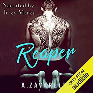 Reaper     Boston Underworld, Book 2              By:                                                                                                                                 Ashleigh Zavarelli                               Narrated by:                                                                                                                                 Tracy Marks                      Length: 8 hrs and 42 mins     1,234 ratings     Overall 4.6