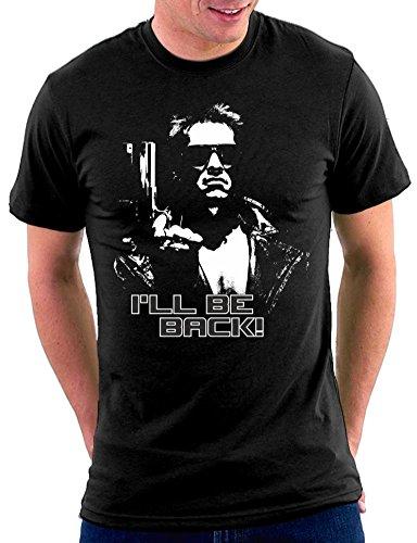 The Terminator–Camiseta negro 48