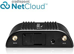 Cradlepoint 1-yr NetCloud Essentials for IoT Gateways with Support and IBR200 Router with WiFi (10 Mbps Modem) for Verizon