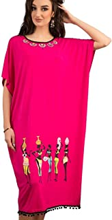 Zecotex Cotton Printed Nightgown For Women