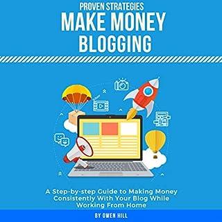 Make Money Blogging audiobook cover art