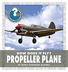Propeller Plane by Nancy Robinson Masters